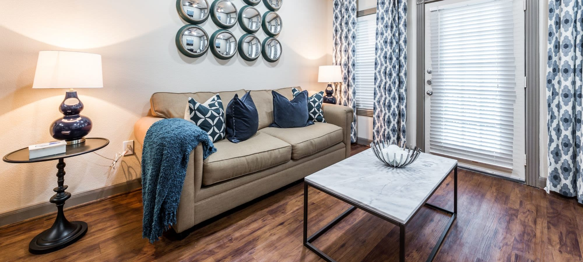 Floor plans at Marquis at Tanglewood in Houston, Texas