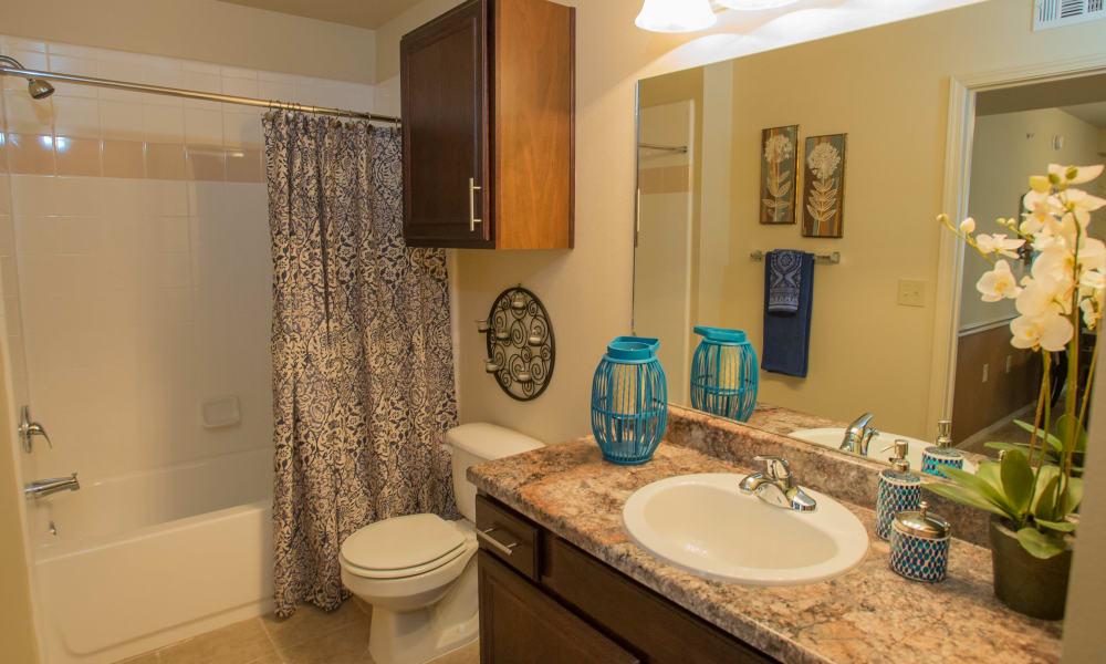 Bathroom at Park at Tuscany in Oklahoma City, Oklahoma