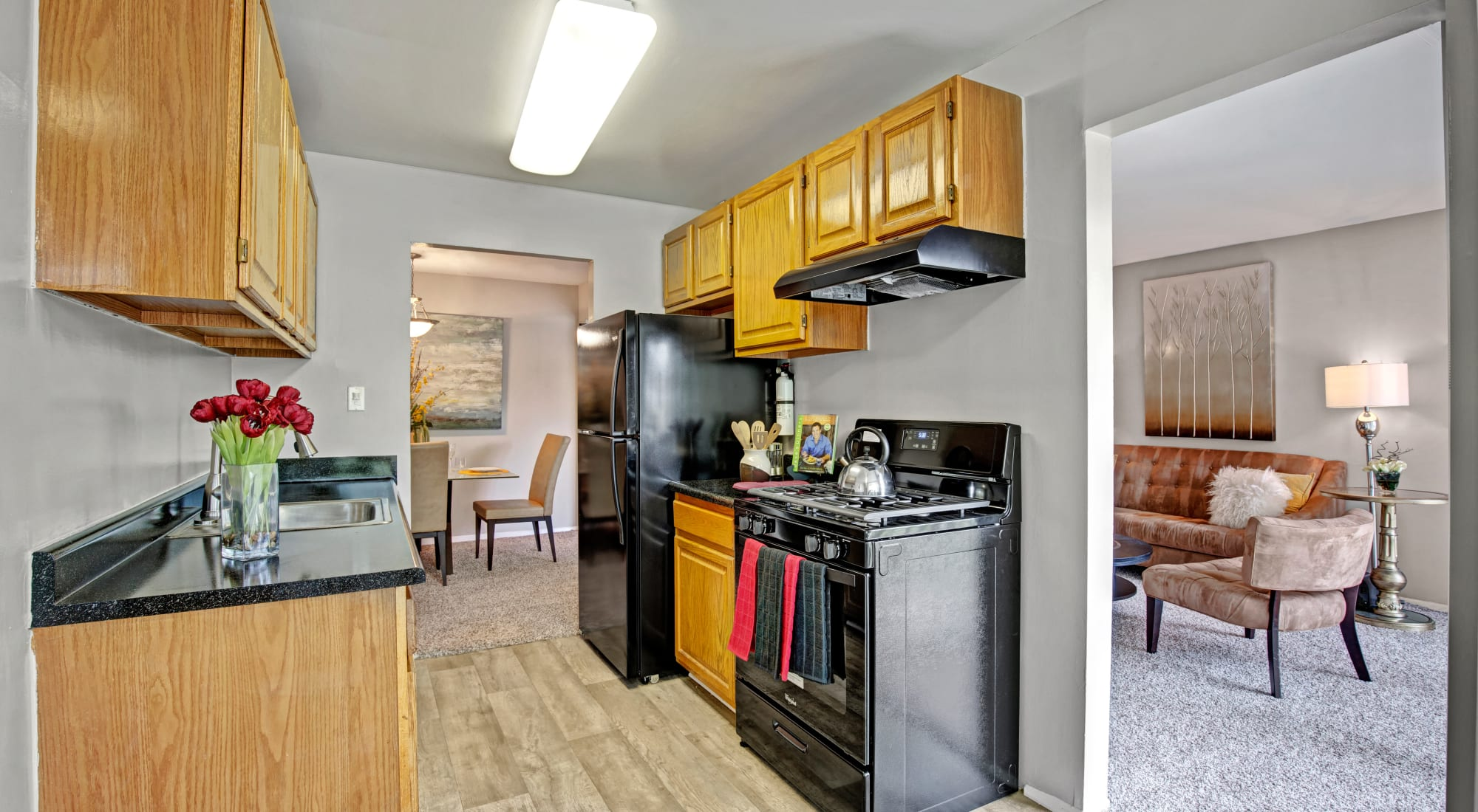 Floor plans at Cinnamon Run at Peppertree Farm in Silver Spring, Maryland
