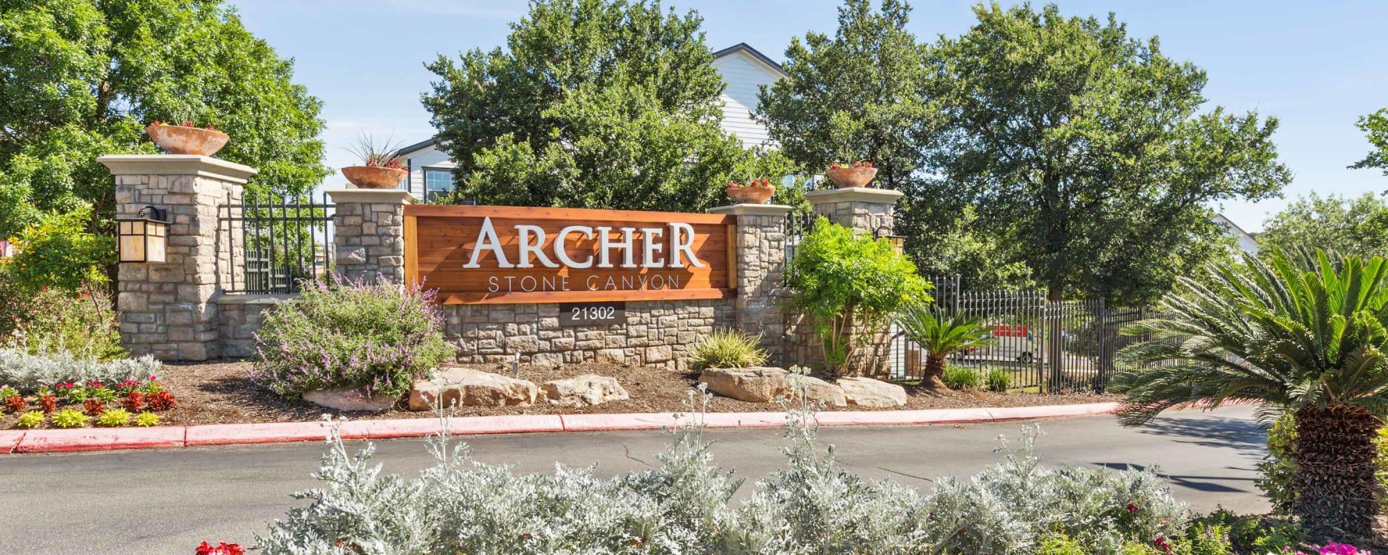 Playground at Archer Stone Canyon in San Antonio, Texas