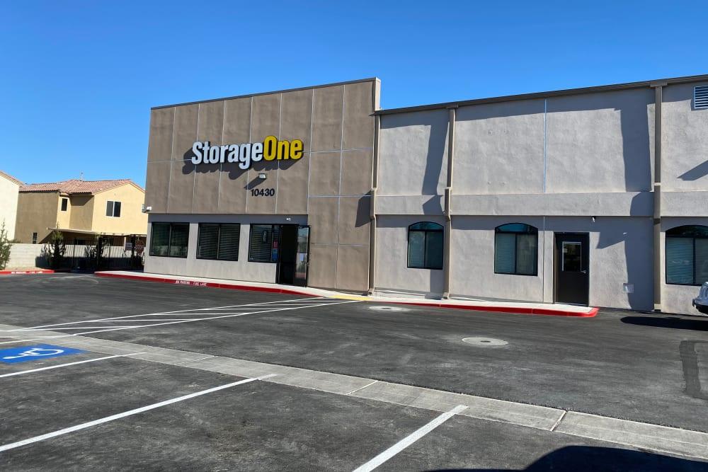 An exterior view of StorageOne Horizon & Sandy Ridge in Henderson, Nevada