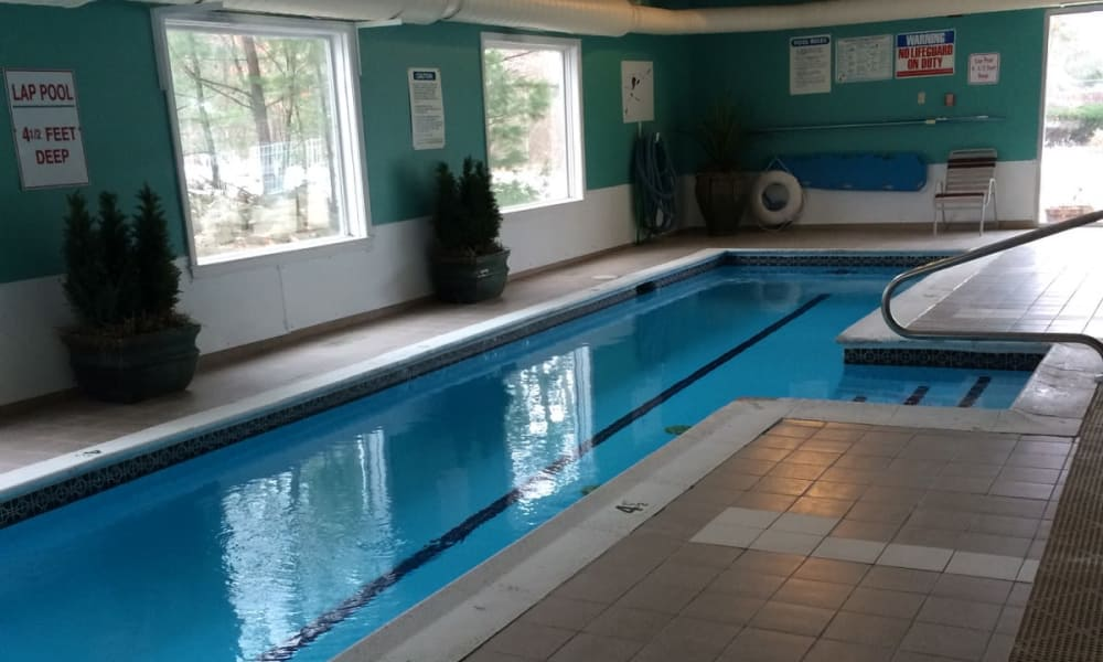Lap pool at Wellington Hill in Manchester, NH