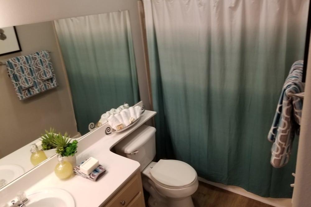 beautiful bathroom at Timberlakes at Atascocita