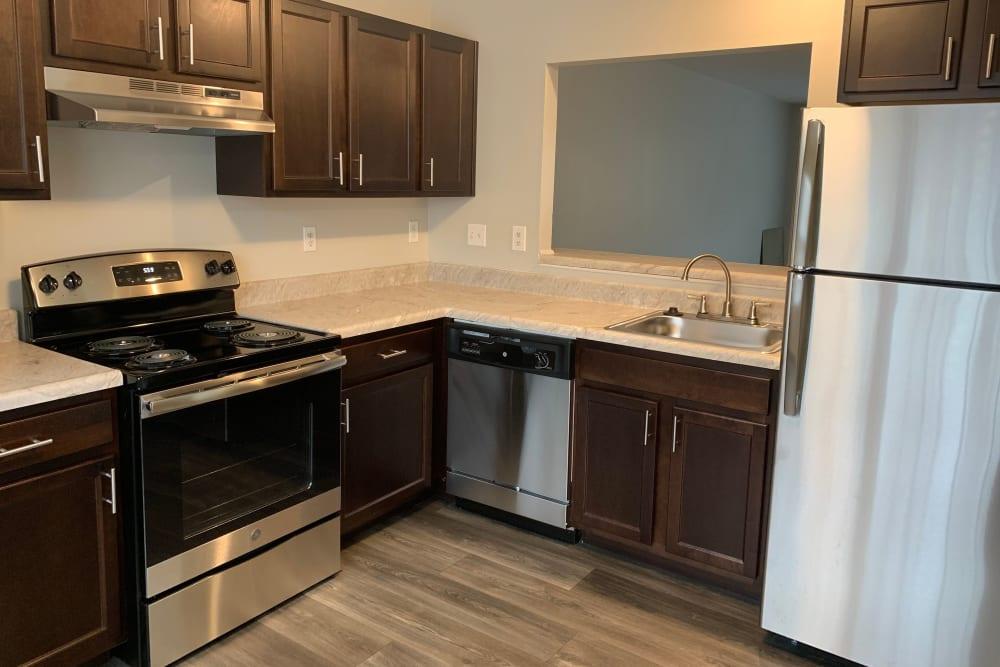 Kitchen at Timber Ridge in Fredericksburg, Virginia