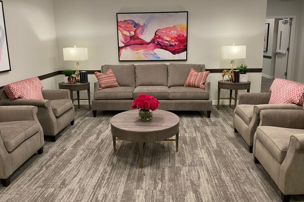 Common area at Aspired Living of La Grange