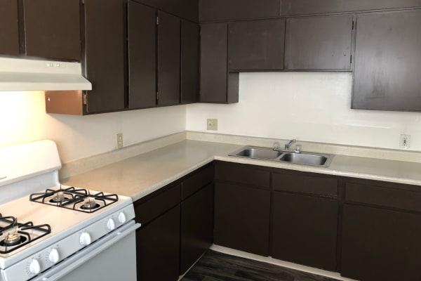 Kitchen at Tiffany Square in Lakewood, Colorado