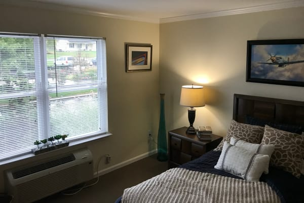 A spacious bedroom at Traditions of Lansdale in Lansdale, Pennsylvania