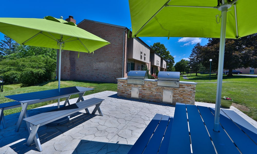 Grilling Station at Lakewood Hills Apartments & Townhomes in Harrisburg, PA