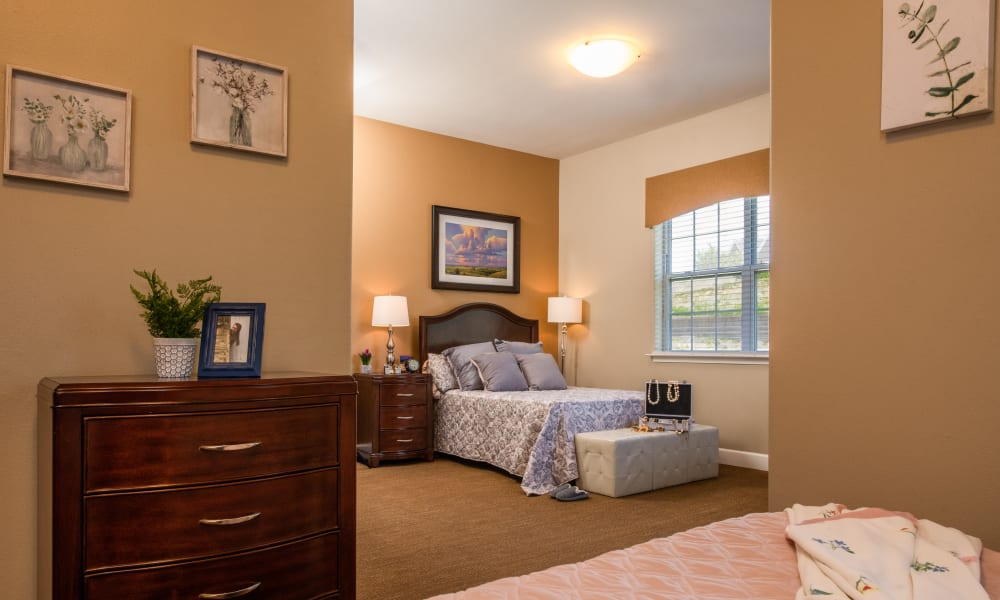 Companion Room at Elk Meadows Assisted Living and Memory Care in Oakley, Utah