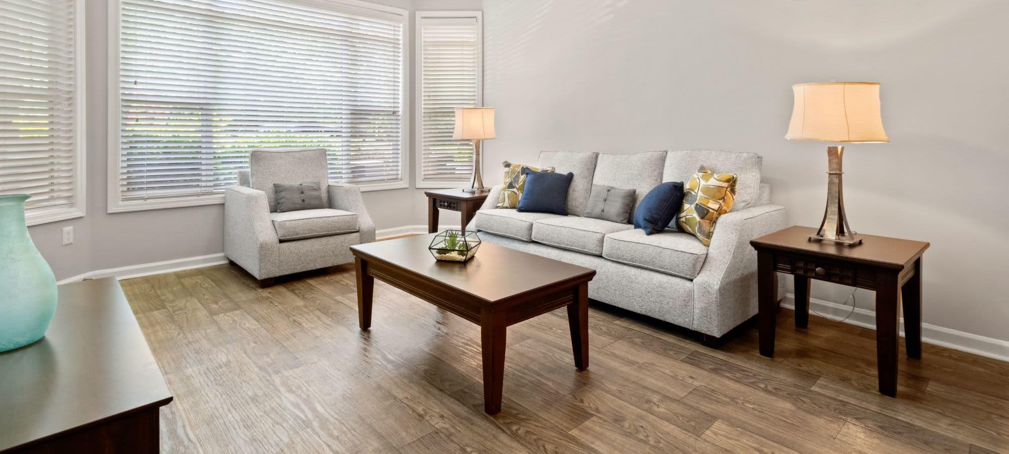 Floor plans at Marquis Midtown West in Atlanta, Georgia