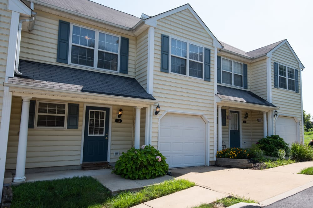 Exterior of The Fairways Apartments and Townhomes In Thorndale, PA