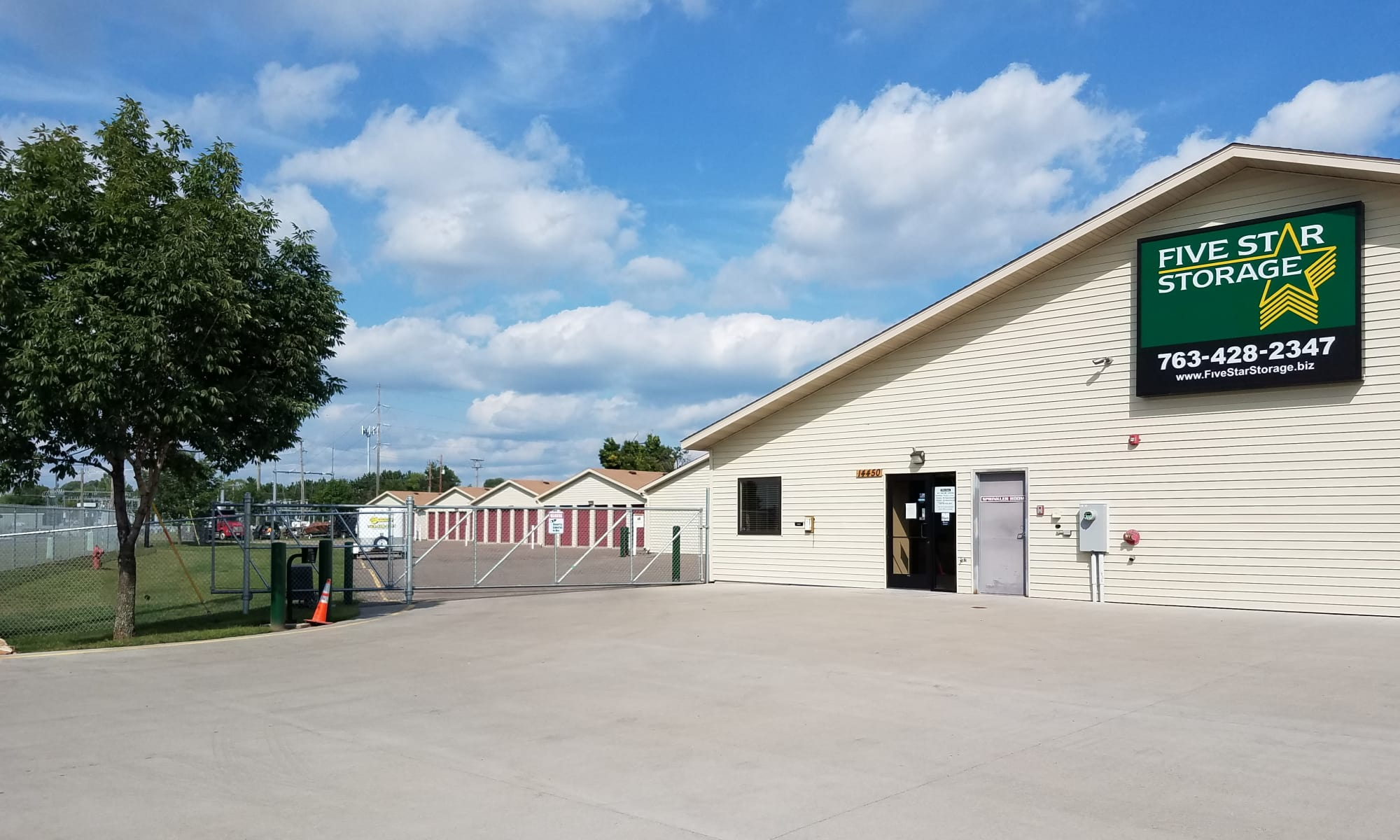 Self storage in Rogers MN