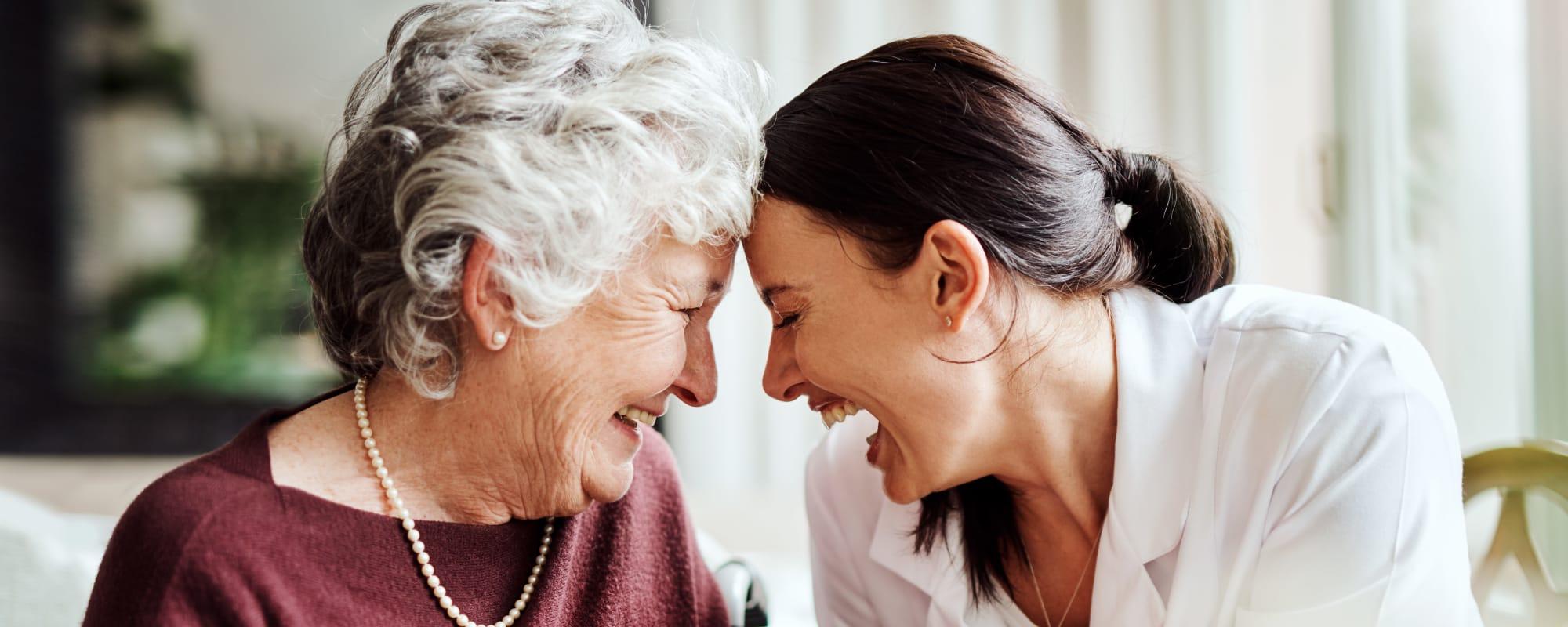 Senior living at CERTUS Premier Memory Care Living in Mount Dora, Florida