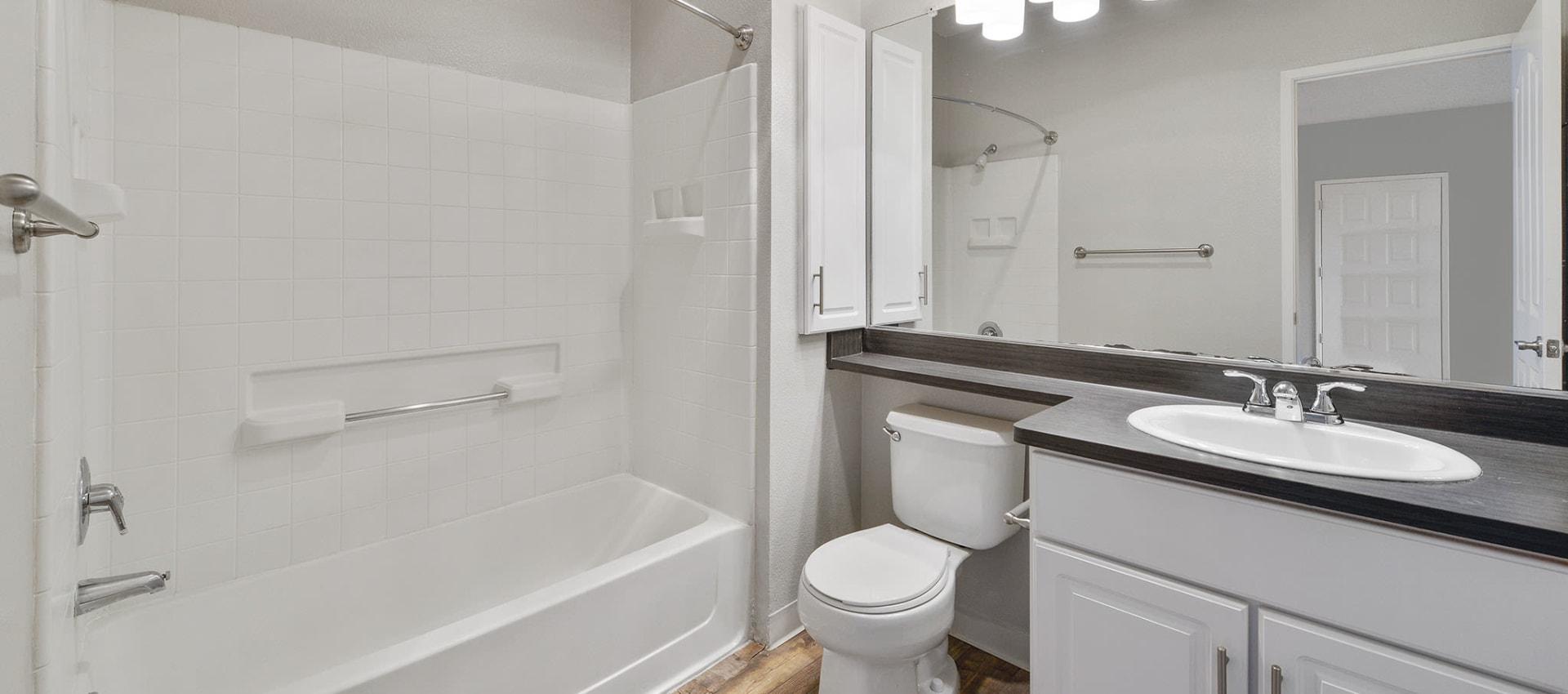 Spacious Bathroom at Rosewalk at San Jose