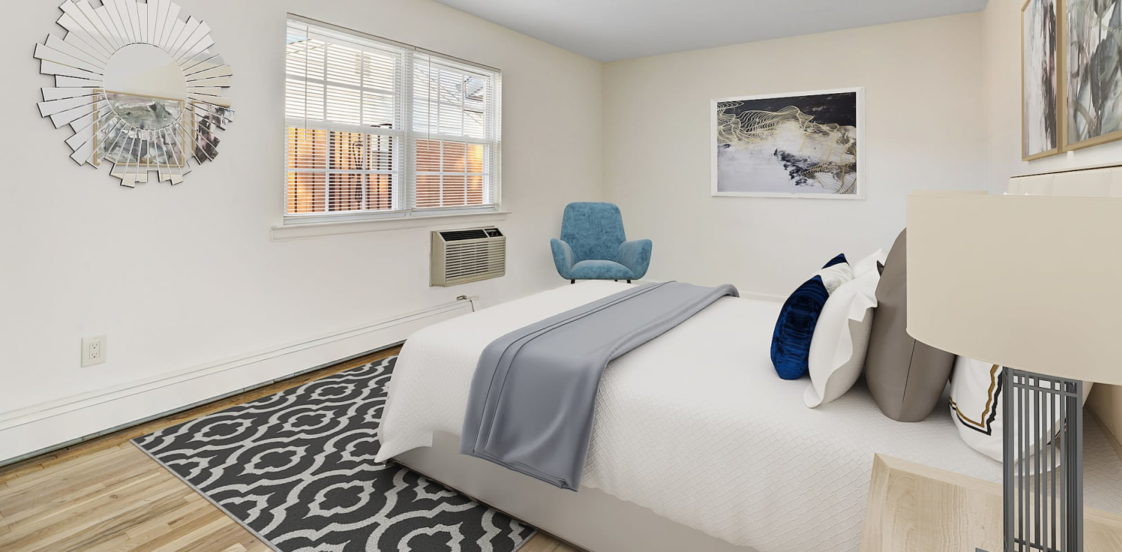 Bedroom at Park Lane Apartments in Little Falls, New Jersey