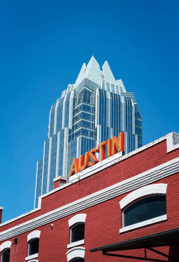 Resident exploring Austin, Texas near The Clark