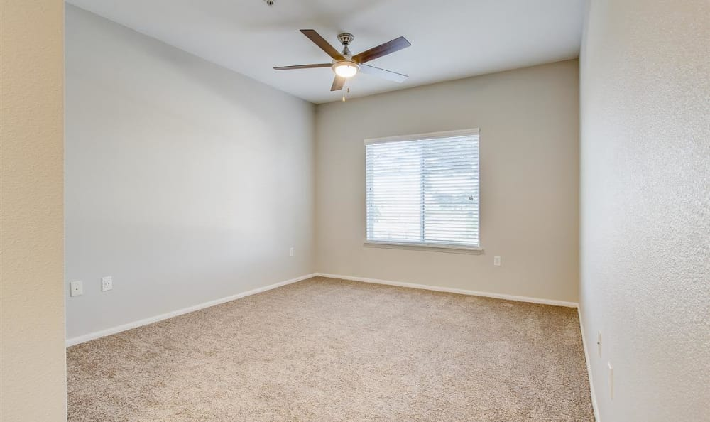 Spacious living area in model home at The Highlands at Spectrum in Gilbert, AZ