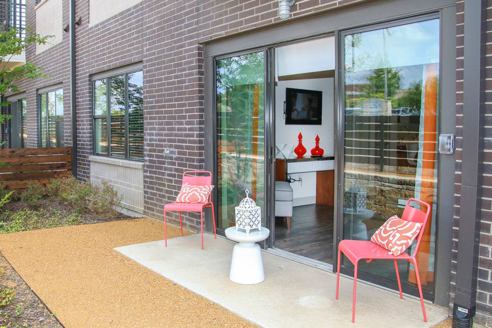 Private Patio   Axis 3700 Apartments Plano, TX