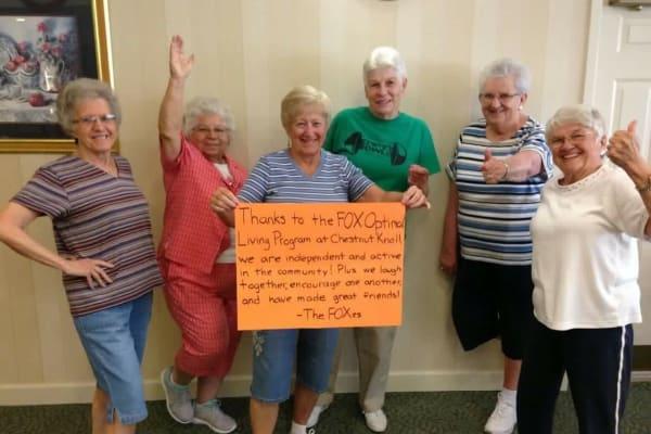FOX women's success at Chestnut Knoll in Boyertown, Pennsylvania