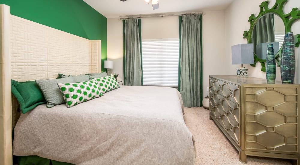 Bedroom at Sorrel Phillips Creek Ranch in Frisco, Texas