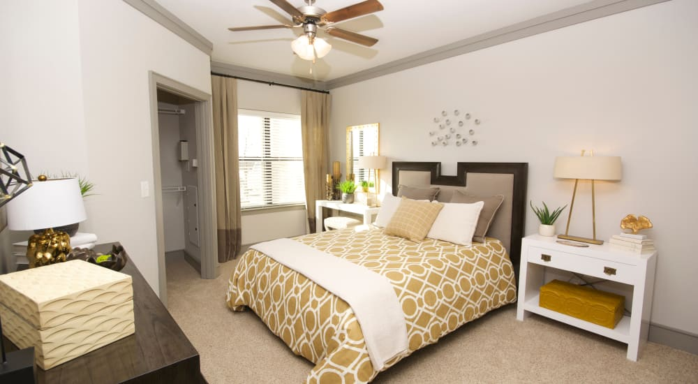 Bedroom at The Sovereign in Fort Worth, Texas