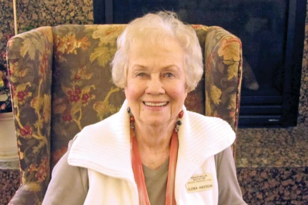 Glenda Anderson at Meadowlark Estates Gracious Retirement Living in Lawrence, Kansas