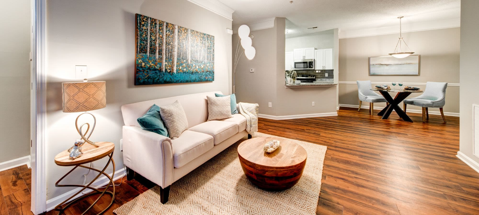 Floor plans at Marquis on Edwards Mill in Raleigh, North Carolina