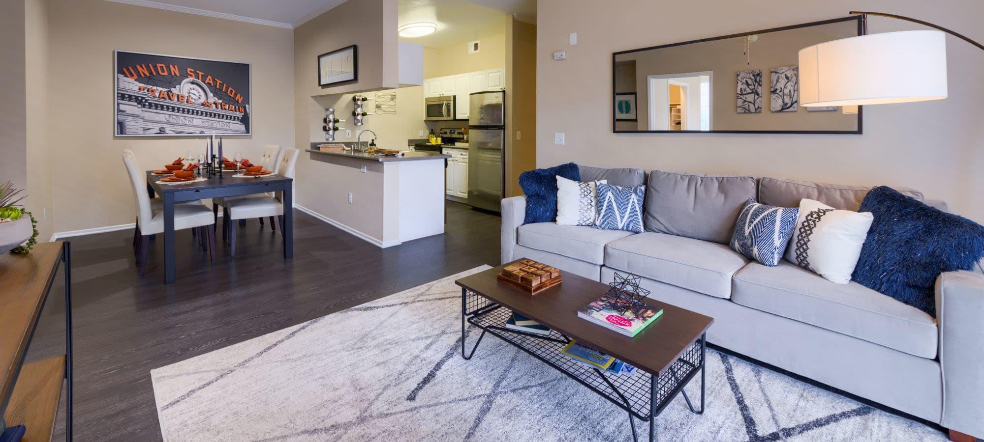Floor plans at Whisper Creek Apartment Homes in Lakewood, Colorado