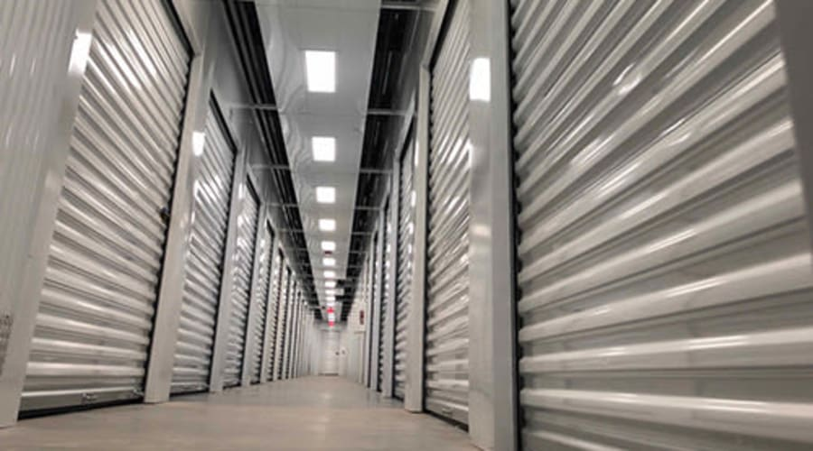 Temperature controlled storage available at Monster Self Storage in Savannah, Georgia