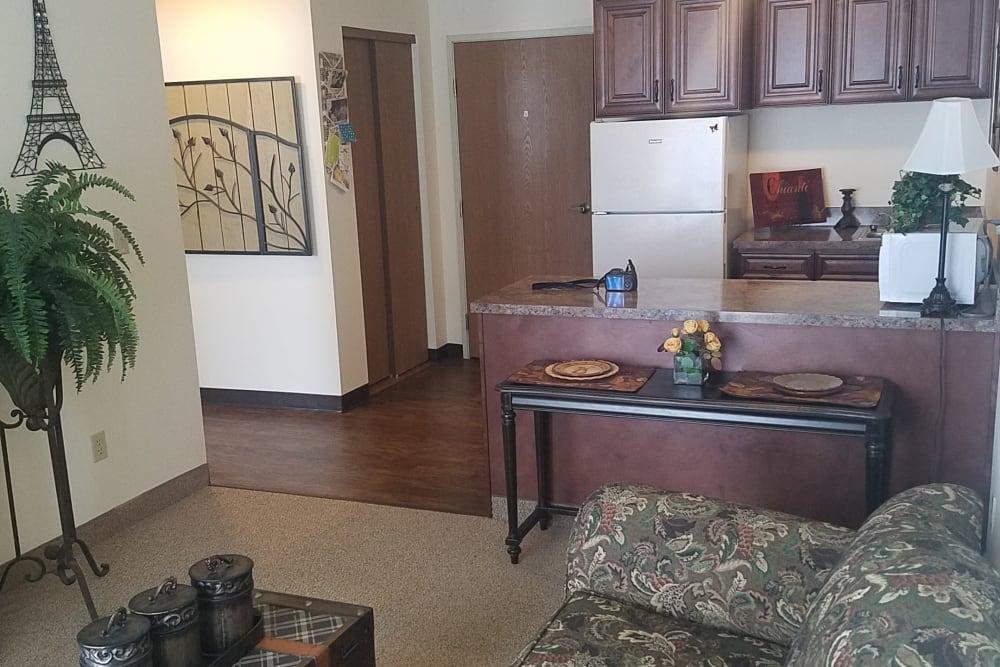 Living Room at Royal Columbian Retirement Inn