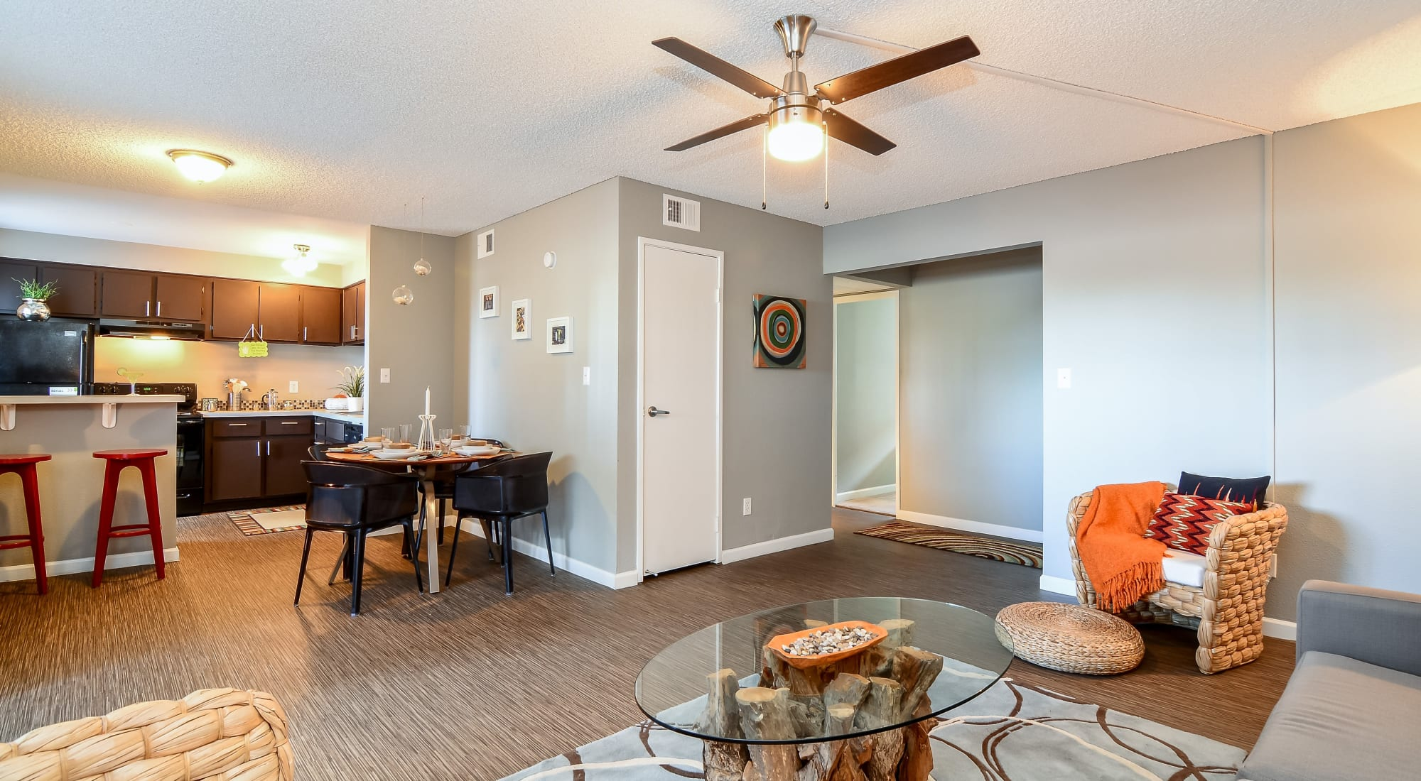 Floor plans at 505 West Apartment Homes in Tempe, Arizona