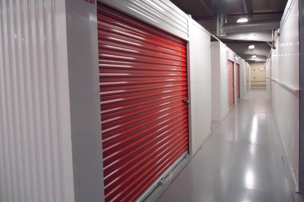 Interior of The Storage Bunker Annex in Medford, Massachusetts