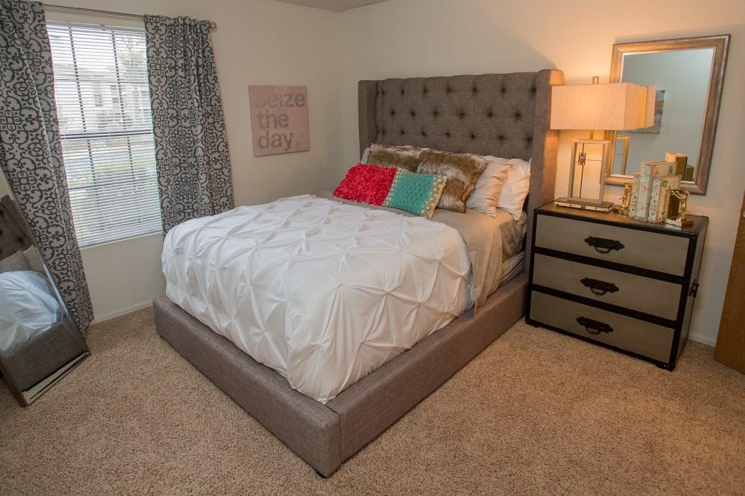 Bedroom at Copperfield Apartments in Oklahoma City, Oklahoma