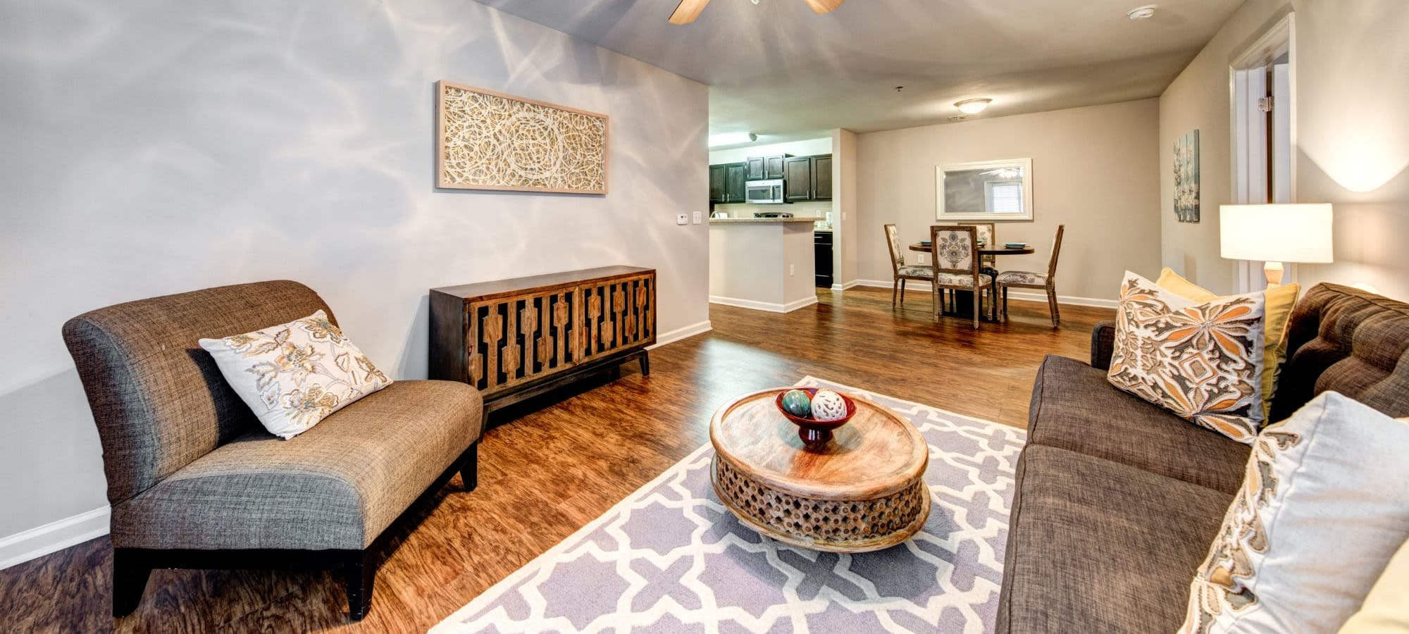 Floor plans at Marquis on Cary Parkway in Morrisville, North Carolina