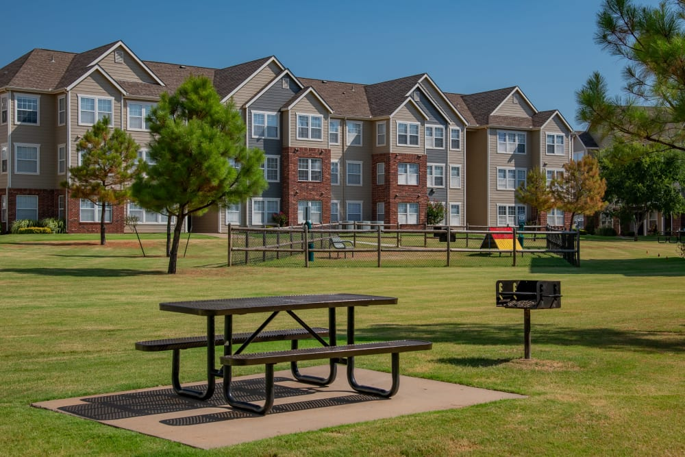 Apartment building at The Park on Westpointe in Yukon, Oklahoma
