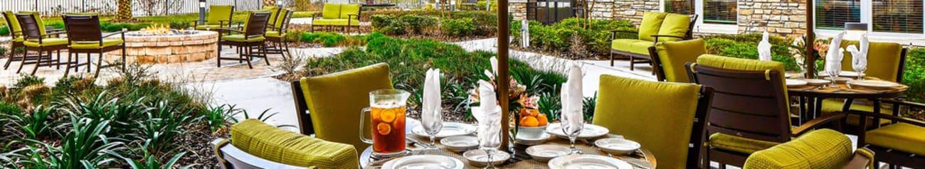 Senior living options at Azpira at Windermere in Windermere, Florida