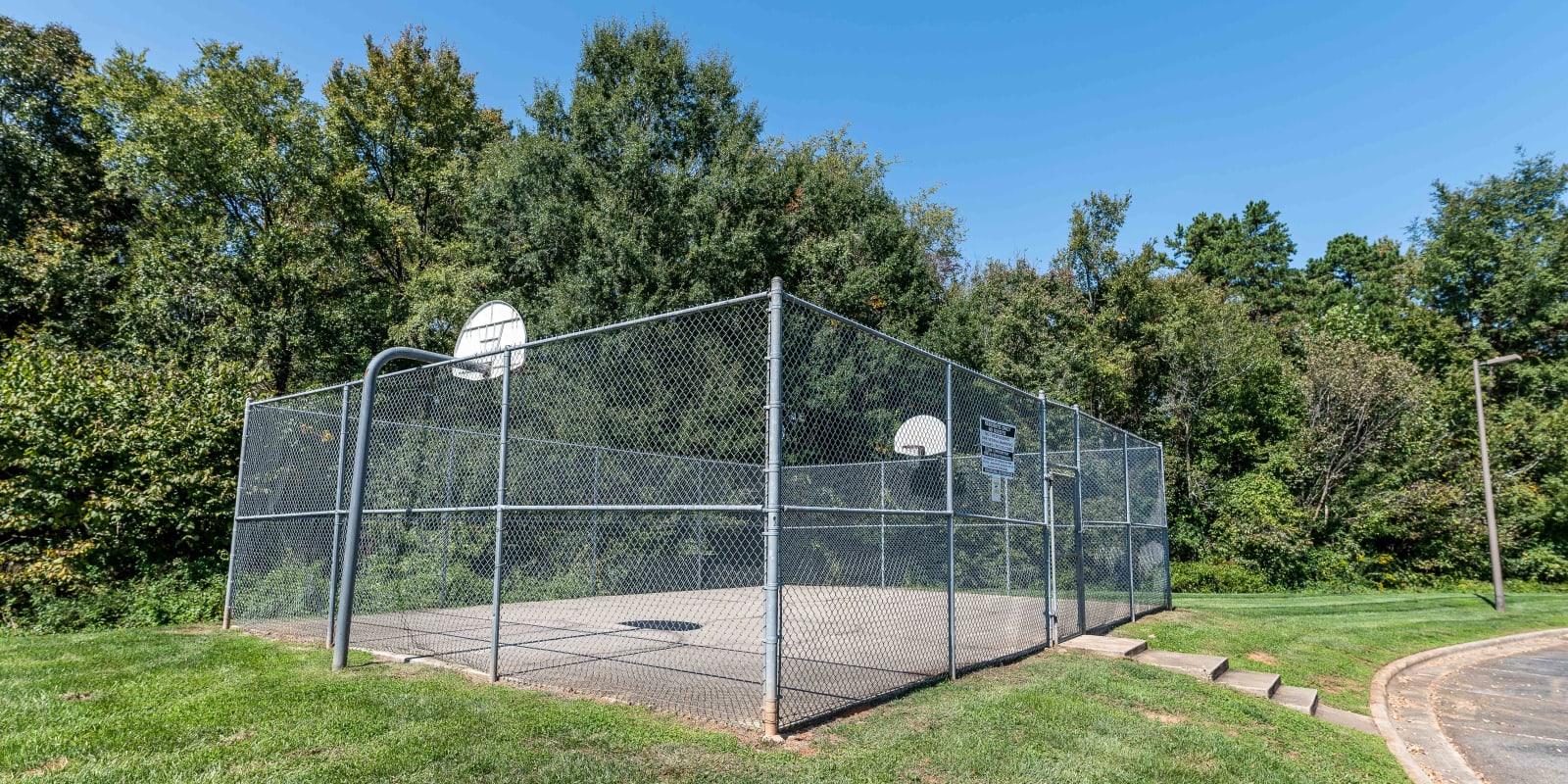 Basketball Court at Kannan Station Apartment Homes in Kannapolis, North Carolina