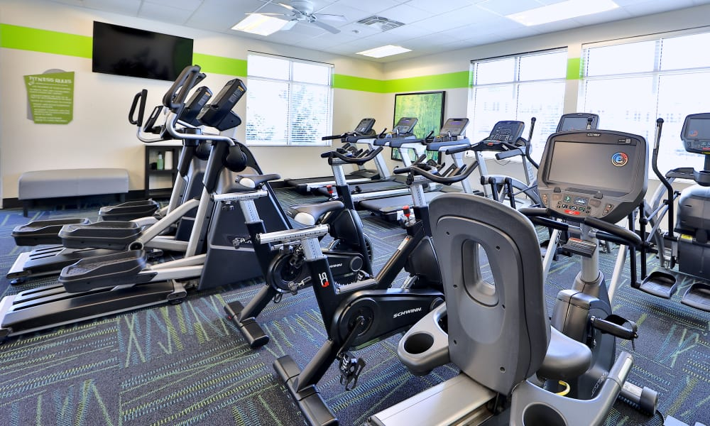 Cardio Area at The Townhomes at Diamond Ridge in Baltimore, Maryland