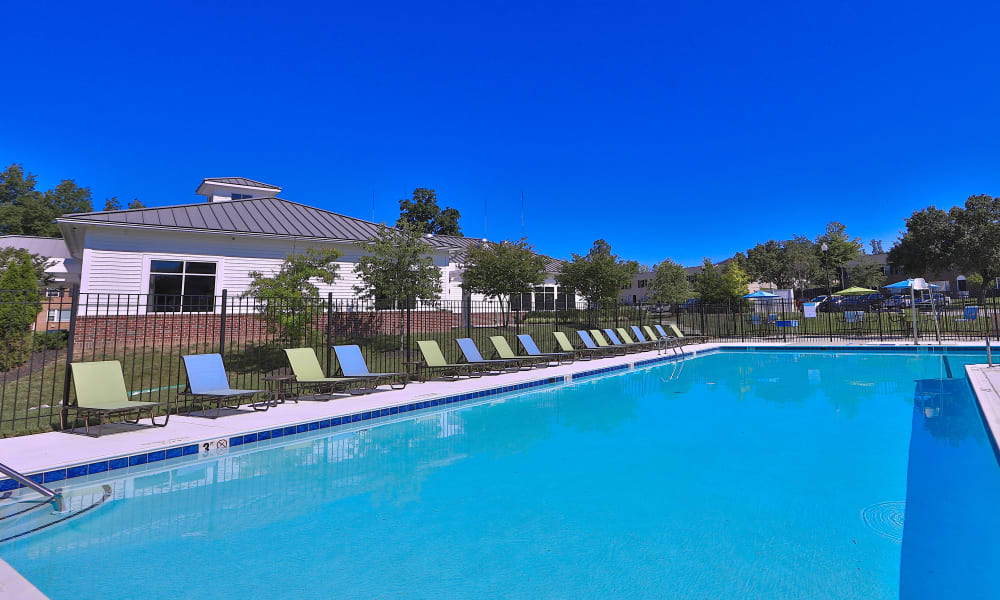 Swimming Pool at The Townhomes at Diamond Ridge in Baltimore, Maryland