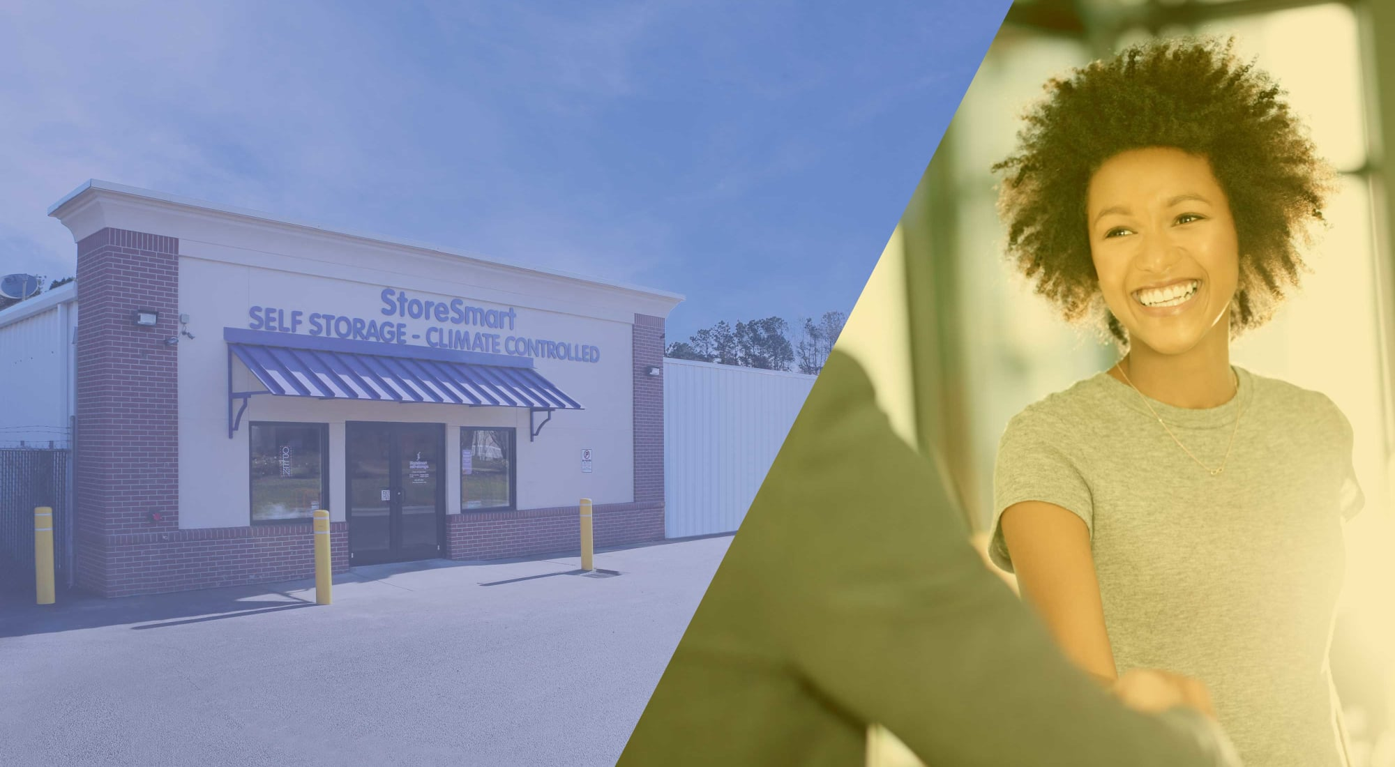 Self storage at StoreSmart Self-Storage in Summerville, South Carolina