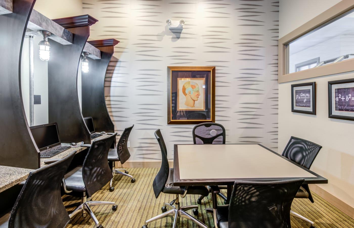 Business center at IMT Miramar in Miramar, Florida