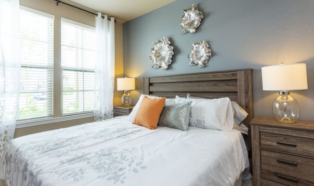 Spacious bedroom at Springs at Gulf Coast in Estero, FL