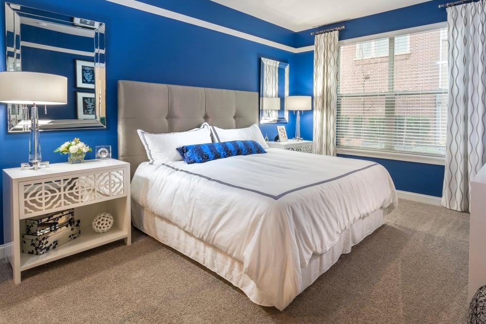 Bedroom at Element Oakwood in Dayton, Ohio