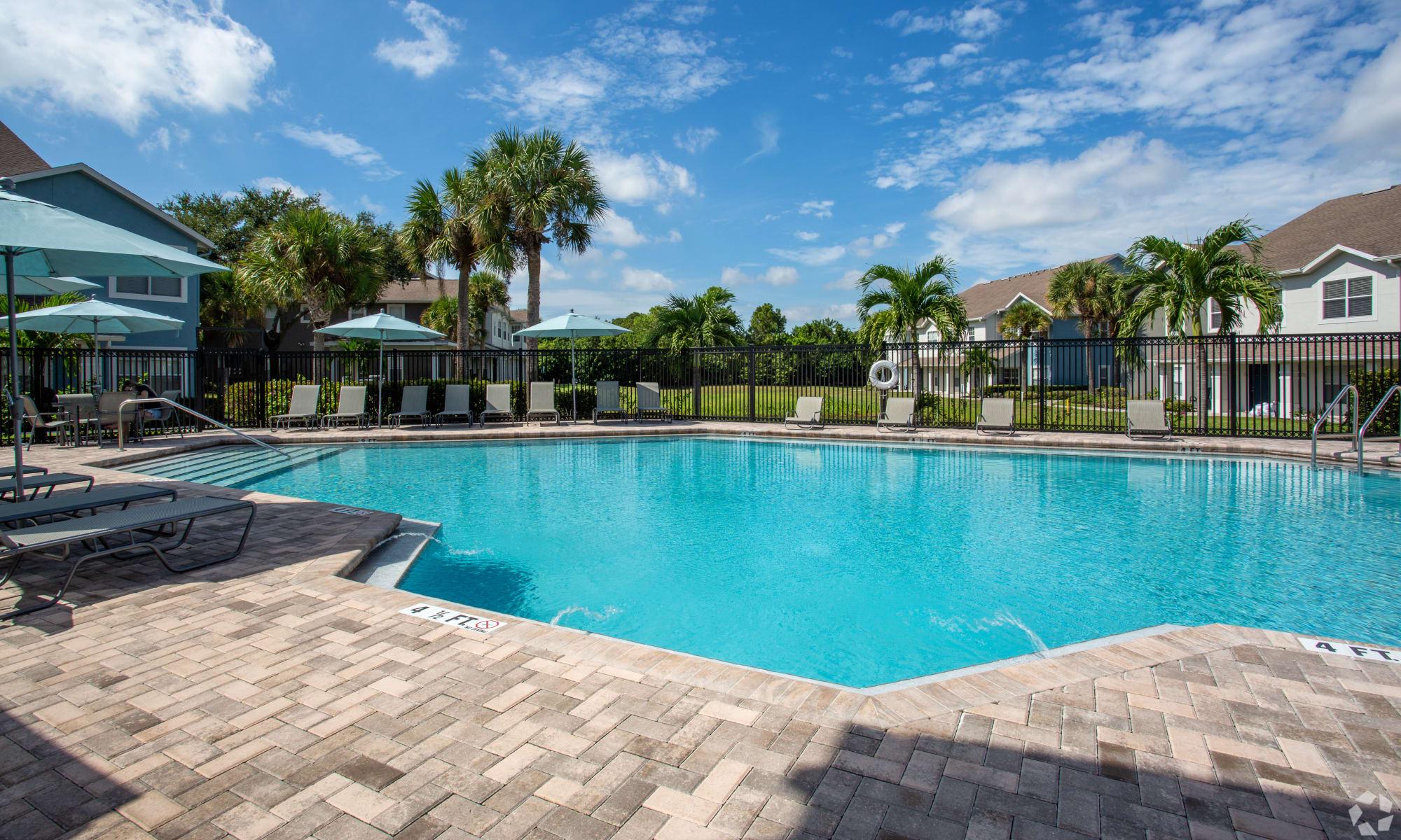 Apartments at Calais Park Apartments in St Petersburg, Florida