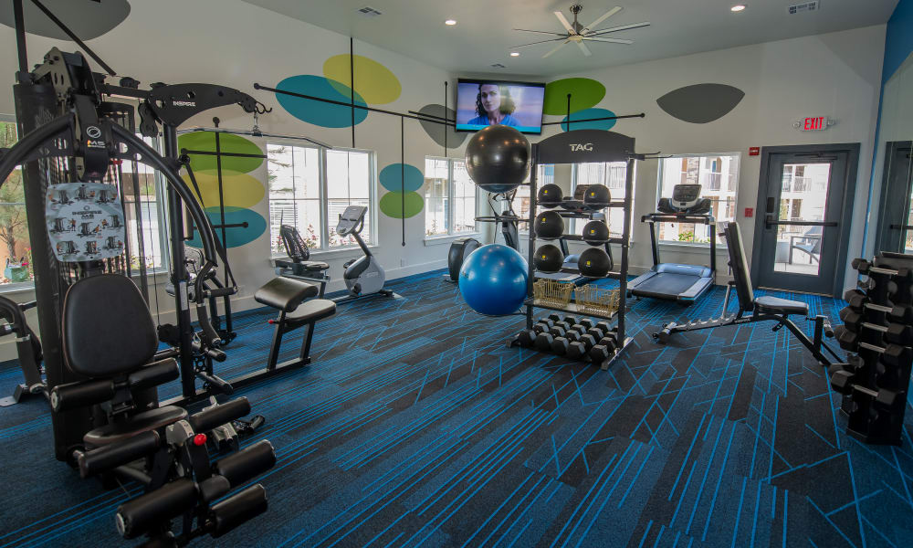Fitness Center at Artisan Crossing in Norman, Oklahoma