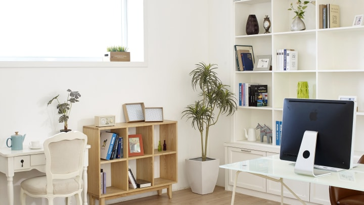 declutter for an organized home and improved mental health