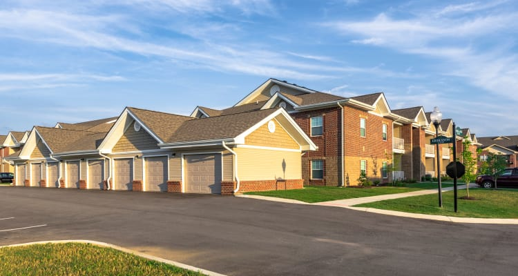 Exterior of our idyllic community at Valley Farms in Louisville, Kentucky
