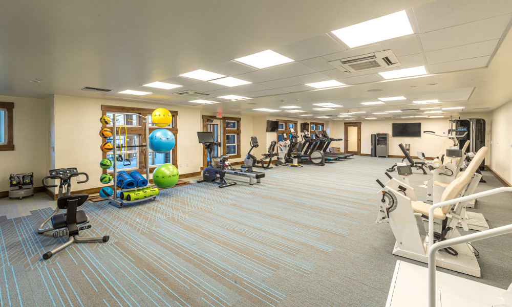 Gym at The Alexander in Bend, Oregon