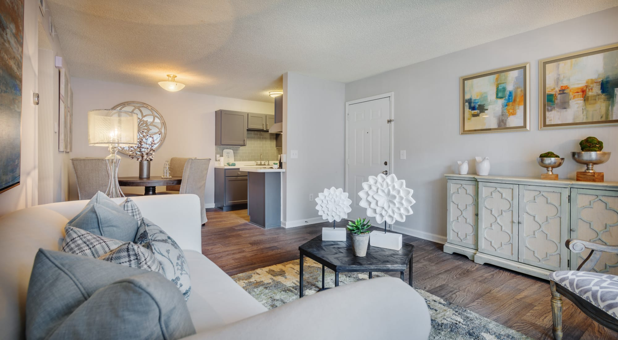 Floor plans at Residences at West Mint in Mint Hill, North Carolina
