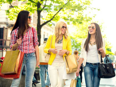 Go shopping near Carriage Hill Apartment Homes in Randallstown, Maryland